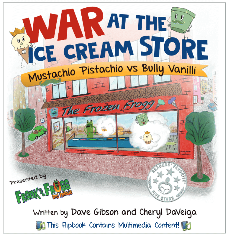war at the ice cream store multimedia cover