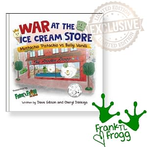 War At The Ice Cream Store Limited Edition Signed By Frank TL Frogg