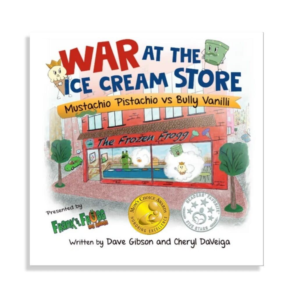 War at The Ice Cream Store Book