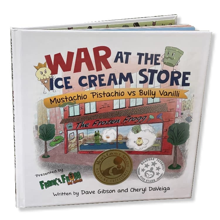 war at ice cream store book