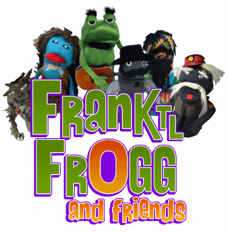 frank tl frogg and friends logo